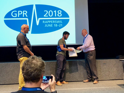 GPR2018 Young Scientist winner