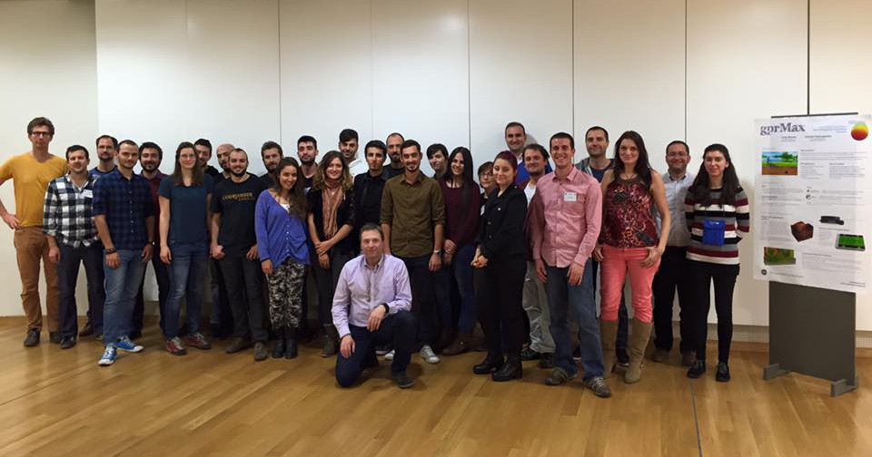 Group photo from Thessaloniki Training School